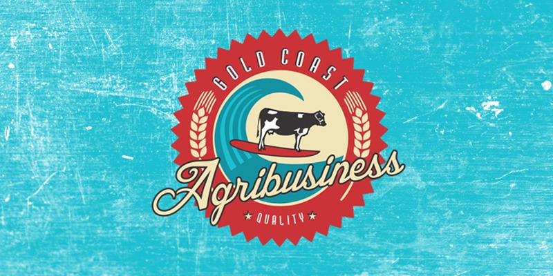 Gold Coast Agribusiness logo design